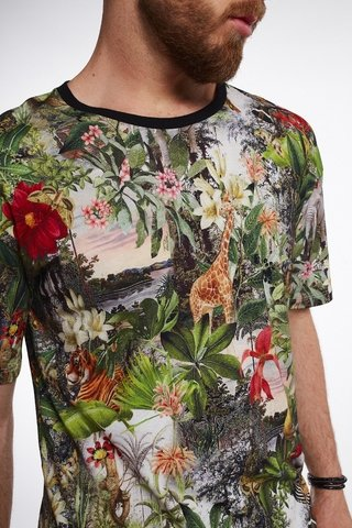 Camiseta Estampada Exotic Forest na internet
