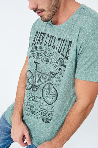 Camiseta Estampada Bike Culture na internet