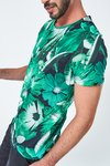 Camiseta Estampa Floral na internet