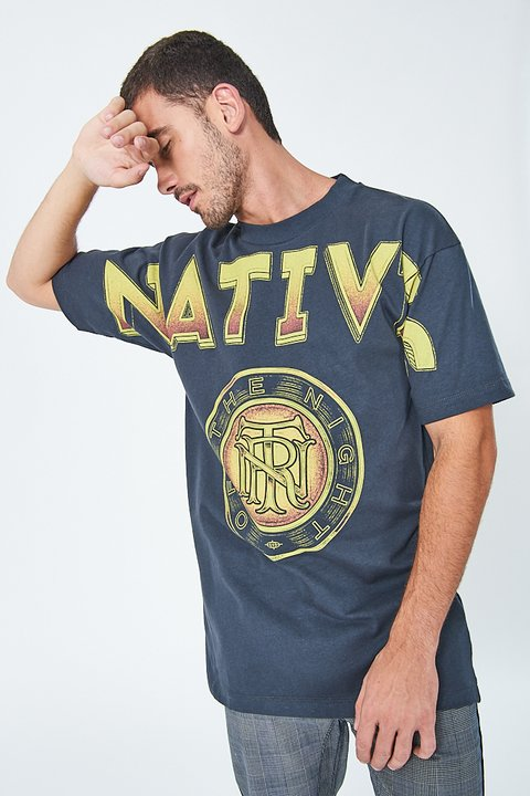 Camiseta Estampa  natives