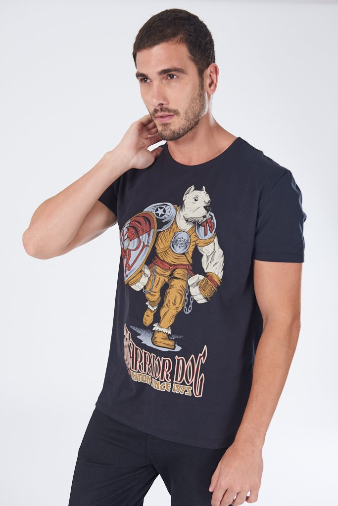 Camiseta Estampada Pitbull