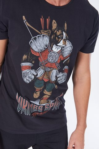 Camiseta Estampada Bulldog na internet