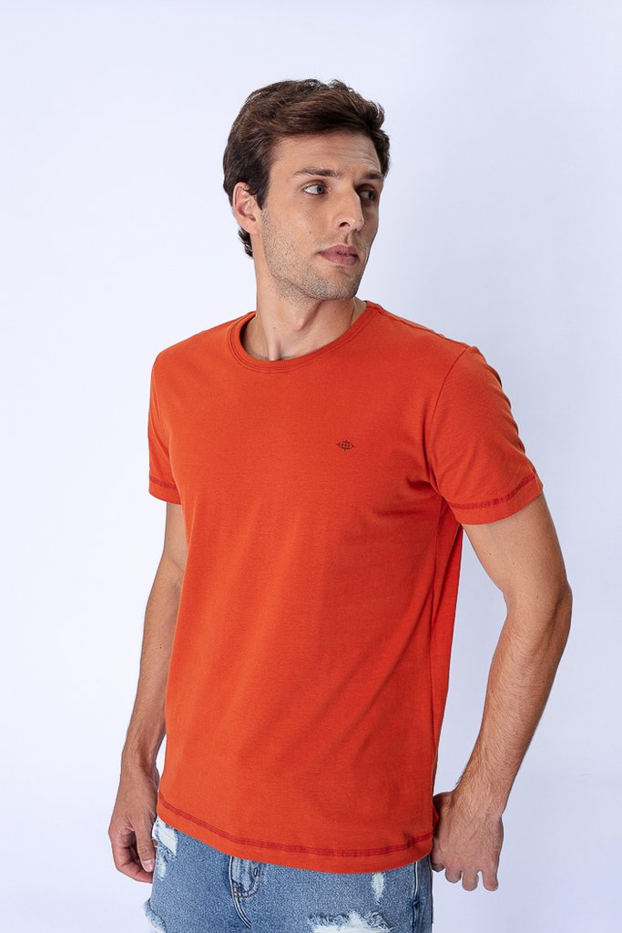 Camiseta Estampa Costas Tigre