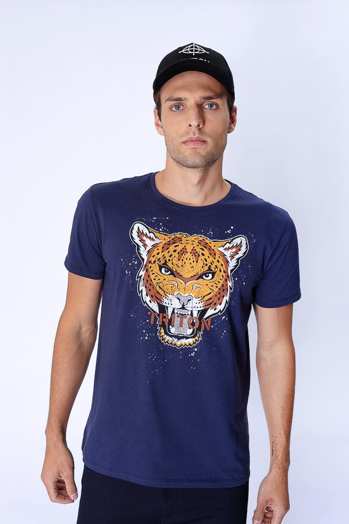 Camiseta Estampada Tiger