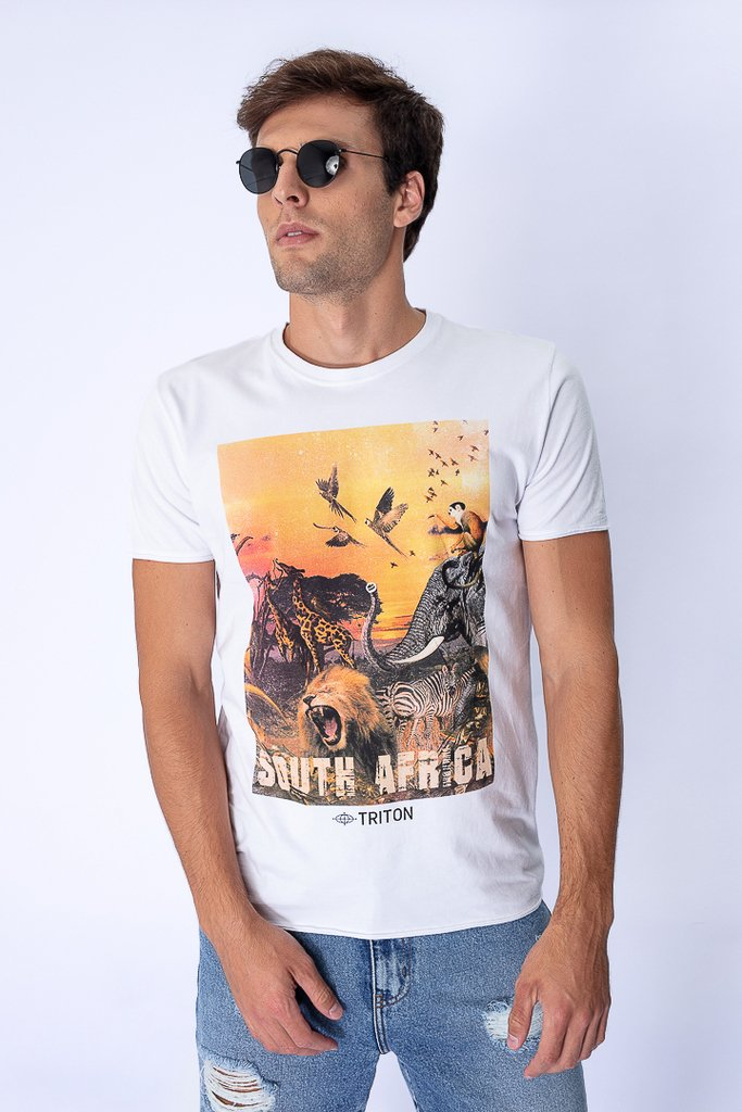 Camiseta Estampa South Africa