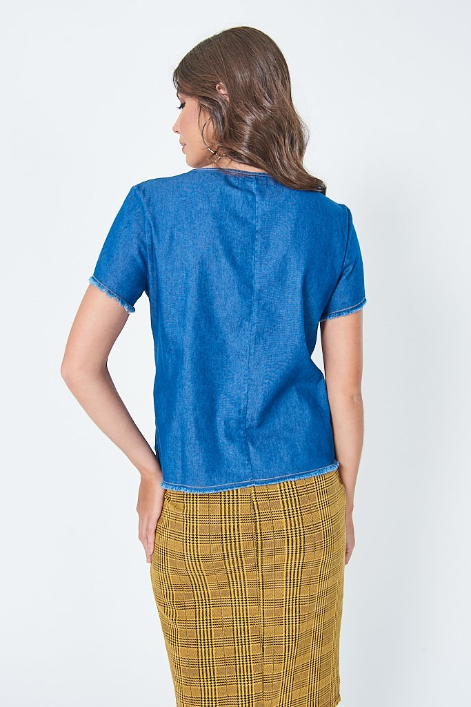 d21e17303a Blusa Jeans Estampada - Comprar em SHOP TRITON OFICIAL