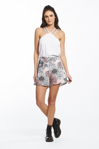 Short Estampado Floral na internet