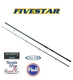 Caña Five Star FE-1402 XXXHS 4.20mts 2 tramos 190-280grs Frontal New Model