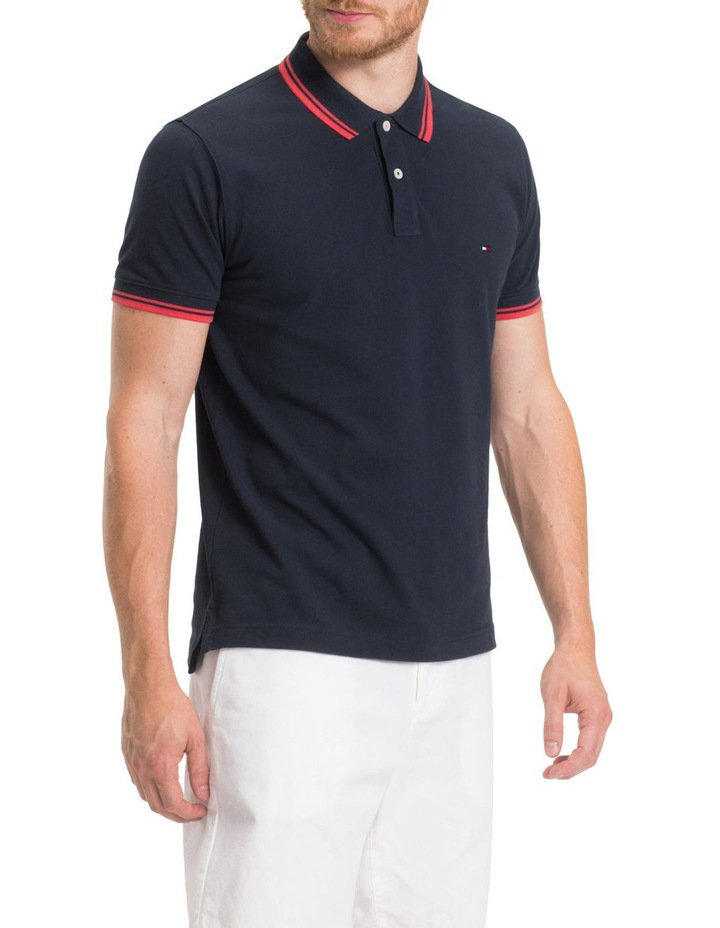 8e3a9b3a5 Camisa Polo Tommy Hilfiger Wcc Contrast Tipped Regular