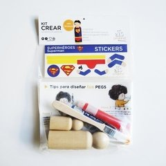 kit Crear Superheroes en internet