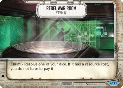 Rebel War Room - Yavin IV / Sala de Guerra Rebelde