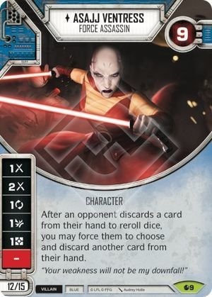 Asajj Ventress - Force Assassin / Assassina da Força
