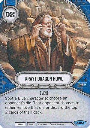 Krayt Dragon Howl / Úivo do Dragão Krayt
