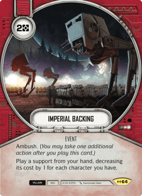 Imperial Backing / Apoio Imperial