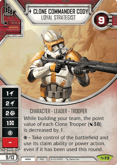Clone Commander Cody - Loyal Strategist / Comandante Clone Cody - Estrategista Leal