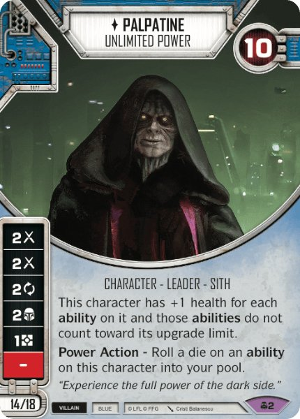 Palpatine - Unlimited Power / Poder Ilimitado