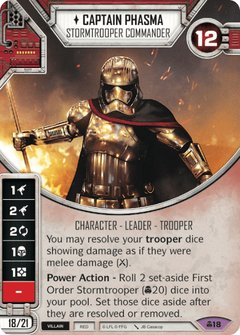 Captain Phasma - Stormtrooper Commander / Comandante Stormtrooper
