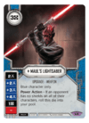 Maul's Lightsaber / Sabre de Luz do Maul