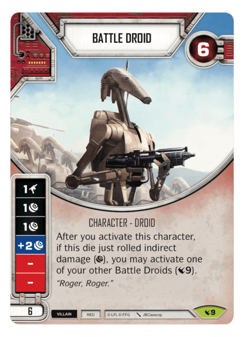 Battle Droid / Droide de Batalha