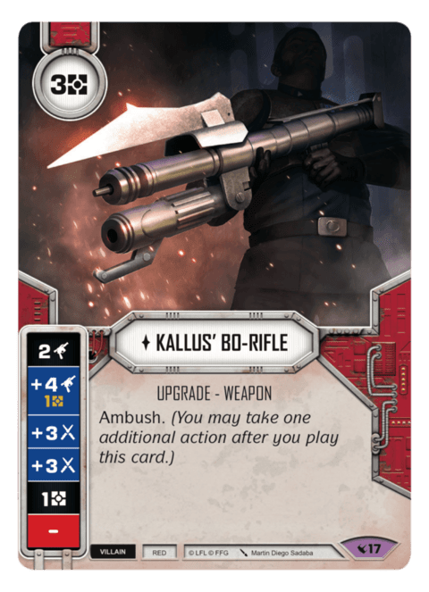 Kallus' Bo-Rifle / Rifle-Bo do Kallus
