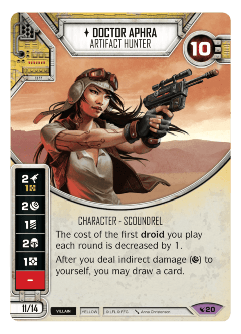 Doctor Aphra - Artifact Hunter / Caçadora de Artefatos