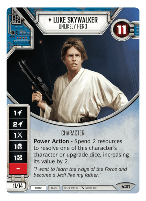 Luke Skywalker - Unlikely Hero / Herói Improvável