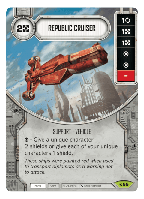 Republic Cruiser / Cruzador Republicano