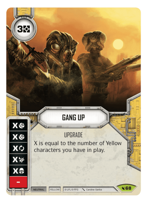 Gang Up / Agrupar