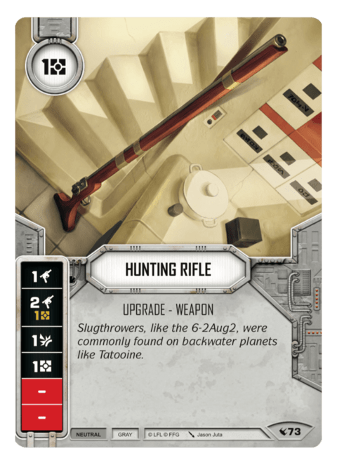 Hunting Rifle / Rifle de Caça