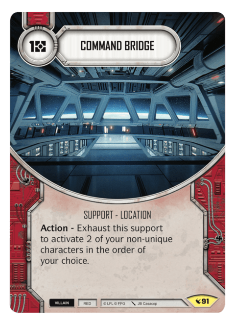 Command Bridge / Ponte de Comando