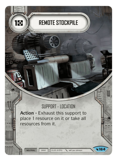 Remote Stockpile / Arsenal Remoto