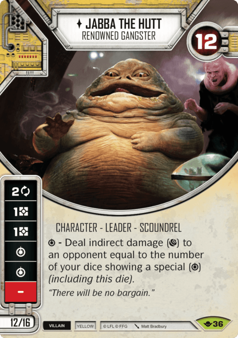 Jabba the Hutt - Renowned Gangster / Criminoso Renomado