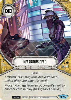 Nefarious Deed / Ação Desprezível