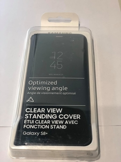 FUNDA CLEAR VIEW STANDING COVER SAMSUNG S8 + PLUS en internet