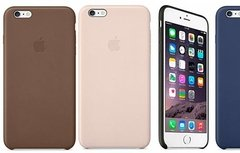 Funda Tipo Cuero Apple iPhone 5 5s 6 Se 6s 7 Plus Olivos - comprar online