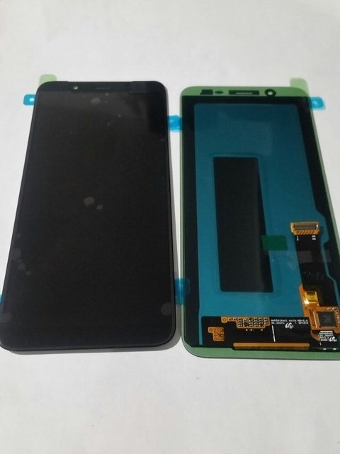 Modulo Display Samsung J8 J800 Oled Touch Colocado