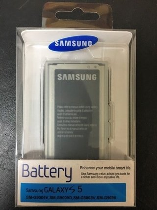 Bateria 100% Original Samsung S5 G900 Blister Made In Korea