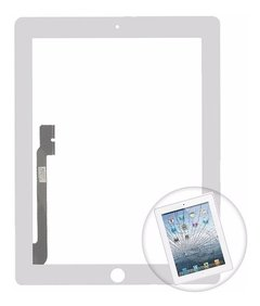 Touchscreen Vidrio Apple iPad 2 3 4  Pantalla Olivos