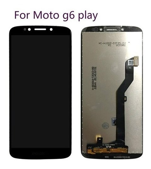 Modulo Display Touch Motorola Moto G6 Play Pantalla
