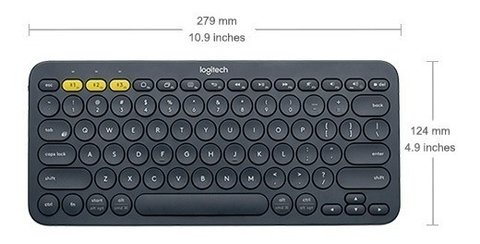 Teclado Bluetooth Logitech K380 Celular Tablet Android Mac