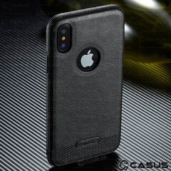 Funda Case Fino Apple iPhone X Slim Olivos Trasero en internet