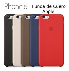 Funda Tipo Cuero Apple iPhone 5 5s 6 Se 6s 7 Plus Olivos
