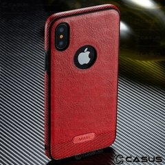 Funda Case Fino Apple iPhone X Slim Olivos Trasero - JASTECH