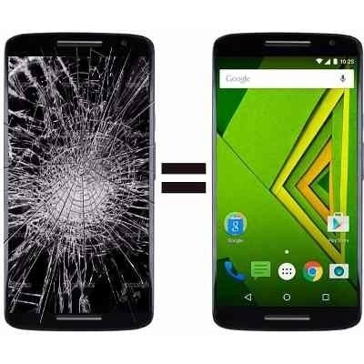 Cambio Modulo Pantalla Touch Moto X Play Display Original
