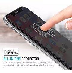 Vidrio Templado iPhone X 10 Lito® Anti Espia Privacy Premium en internet