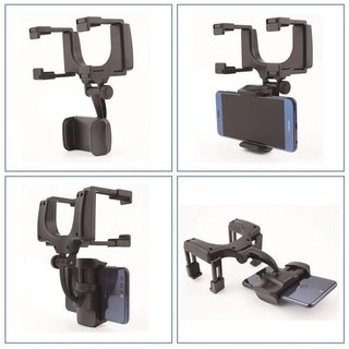 Soporte Auto Espejo Celular Gps iPhone Universal Holder 360 en internet