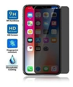 Vidrio Templado iPhone X 10 Lito® Anti Espia Privacy Premium