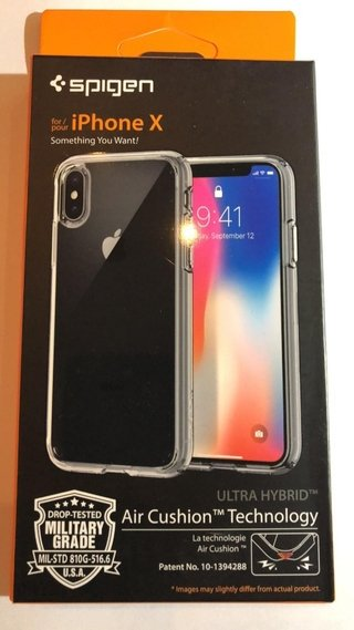 Funda Spigen 100% Genuina En Blister iPhone X - JASTECH