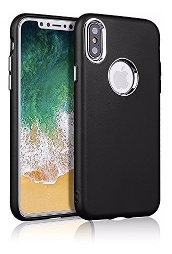 Funda Case iPhone X 10 Apple Antigolpe Caida Tpu Flexi Marco