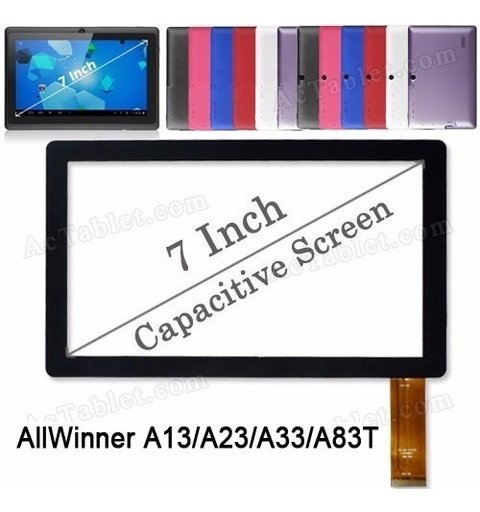 Touch Screen Tablet 7 Allwinner A10 A13 Q8 Witcool X5